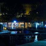 Tomis Marina at night