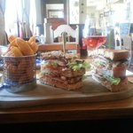 Massive club sandwich
