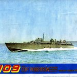 Movie Poster for PT-109 (early ELCO), President John F. Kennedy's boat
