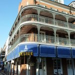 Hotel from the front. Great location right on Bourbon Street in the heart of it all