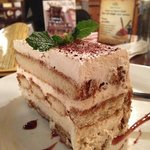  Big slice of Tiramisu. Rating: Very Good.