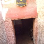  One of the entrances to the Riad!