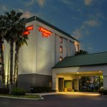 Hampton Inn Tampa-Veterans Expwy Hotel at Night