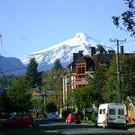  Viste del Volcan Villarica,a la vuelta del hotel