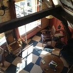 looking down from loft(Vermeer room)