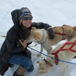  At the mushing camp