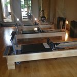 Pilates room at spa