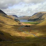 View towards Buttermere and Crummock Water from Winscale Bottom