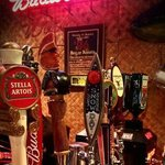 Variety of draft beers on tap at the Tiki Tavern!