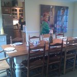 Dining room/kitchen