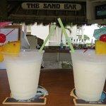 Drinks at The Sand Bar