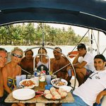  cool party who had rent a charter boat with san blas sailing