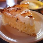 Coconut pie at Pasta Bella