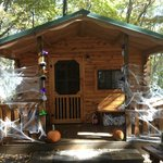 haunted cabin at Halloween Weekend