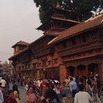 Durbar Square early in t