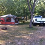  Our campsite!