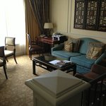  The Living area in our suite