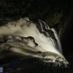  Nigh view of falls FROM room balcony