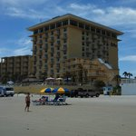  Hotel from the beach. North side ocean view and ocean side rooms.