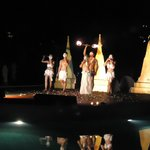  dance programme during our dinner by the poolside