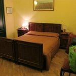  Wooden bedstead