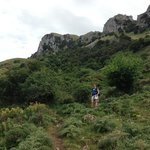 Hiking in the nearby mountains of Madonie Natural Park