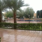  rain and pool