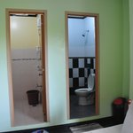 rest room and shower room