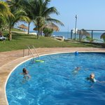 kids pool - great time between beach times :)