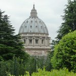  View from Vatican Gardens