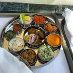  The sumptuous Rajasthani Thali