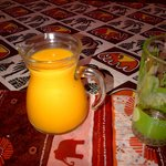 Breakfast - awesome mango juice
