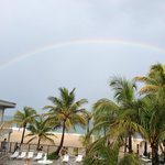  Full Rainbow over the ocean!
