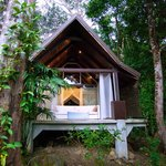 The jungle villa with added privacy and wildlife viewing.
