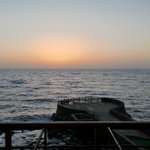  Red Sea sunset from Al Nawras restaurant
