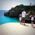  Cove with turquoise waters