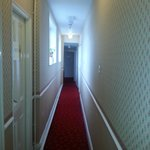 corridor leading to rooms