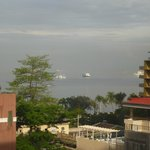 From our room across Manila Bay - lovely scene to wake up to each day!