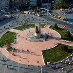 TAKSİM SQUARE FROM DELUXE ROOM WITH CITY VIEW