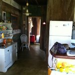 Shack-Up Inn - our shack inside