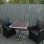  Outdoor seats for our unit