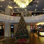 Christmas in the lobby of the Crowne Plaza Hotel - Athens City Center
