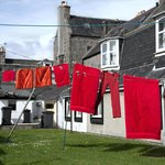 Washing line in Footdee