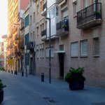  Carrer de Rossend Arus, the street where the hotel is situated.
