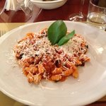  Cavatelli with eggplant and tomatoes
