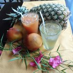 coctails and fresh juices