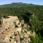  Vista da una delle stanze dell&#39;Hotel della Fortezza