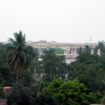 Main attraction of Murshidabad (Hazarduyari palace) from 3rd ffloor  balcony)