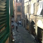  Via Poggio from my room