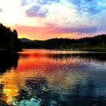  Beautifull sunsets at Cusheon Lake Resort